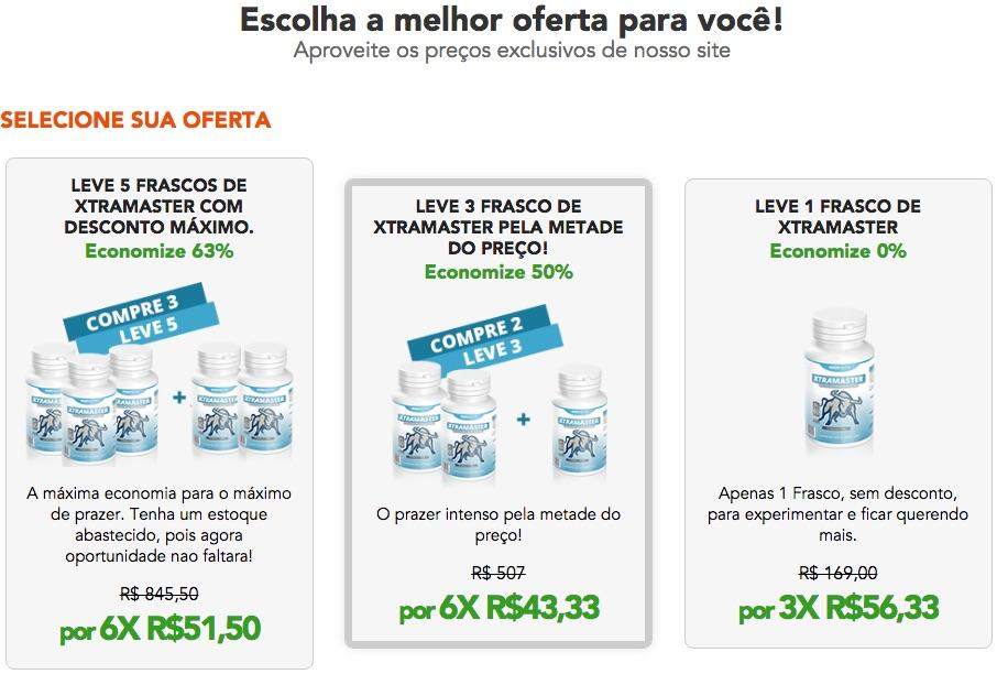 Xtramaster Preço